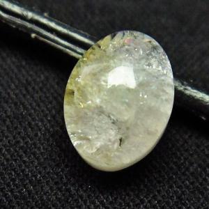 シトリン水晶 ルース t358-1343|seian
