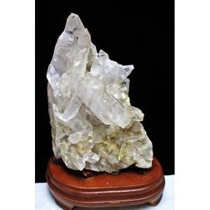 2.4Kg レムリアンシード水晶クラスター パワーストーン 天然石 s28-25|seian