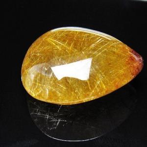 プラチナ入水晶タンブル t12-1654 seian