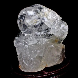 2.5Kg ヒマラヤ水晶 極上 [龍] 置物 t42-269|seian
