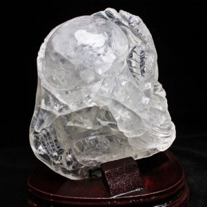 2.1Kg ヒマラヤ水晶 極上 [龍] 置物 t42-306|seian