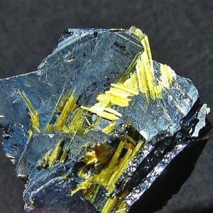 ゴールドタイチンルチルクラスター パワーストーン 天然石 t801-186|seian