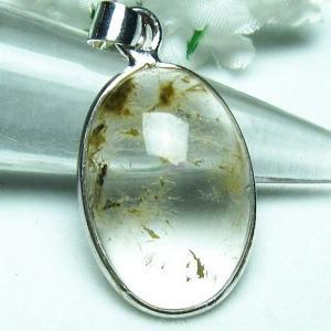 ガーデンルチル水晶 ペンダント パワーストーン 天然石 l357-90|seian