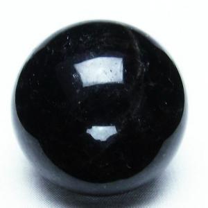 モリオン 純天然 黒水晶  丸玉 44mm t220-3437|seian