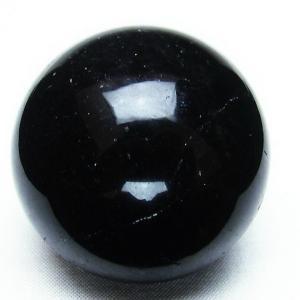 モリオン 純天然 黒水晶  丸玉 44mm t220-3489|seian