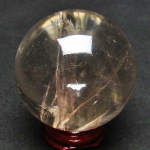 虹入り ヒマラヤ水晶 丸玉 53mm t62-11269|seian