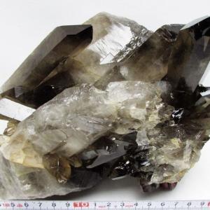 ブラジル産  モリオン 原石 本物  純天然 黒水晶 クラスター 2.9Kg パワーストーン 天然石 t143-996 seian
