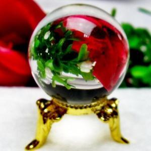 ガーデンクォーツ(庭園水晶) 丸玉 27mm パワーストーン 天然石 t295-581|seian
