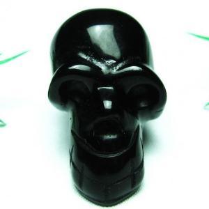 キャッツアイオブシディアン ドクロ パワーストーン 天然石 t500-1464|seian