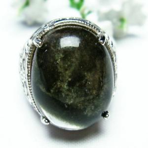 ガーデンクォーツ(庭園水晶) 指輪 (14号) t137-1304|seian