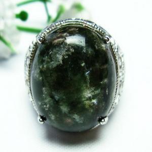 ガーデンクォーツ(庭園水晶) 指輪 (14号) t137-1380|seian