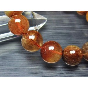 ルチルクォーツ(金針ルチル水晶) ブレスレット 15mm t50-5234|seian|04