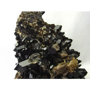 アーカンソー産  モリオン 原石 本物  純天然 黒水晶 クラスター 7.1Kg パワーストーン 天然石 t724-1449|seian|03