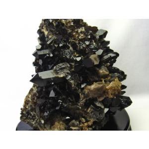 アーカンソー産  モリオン 原石 本物  純天然 黒水晶 クラスター 7.1Kg パワーストーン 天然石 t724-1449|seian|04