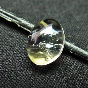 シトリン水晶 ルース t358-1382|seian