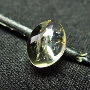 シトリン水晶 ルース t358-1386|seian