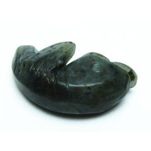 アゲート 金魚 置物 パワーストーン 天然石 t698-596|seian|04