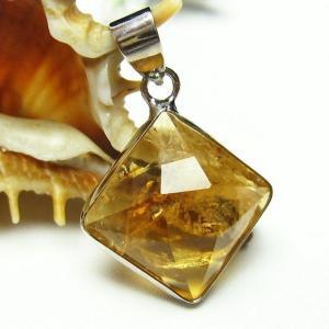 シトリン 黄水晶  ペンダント t167-1303|seian