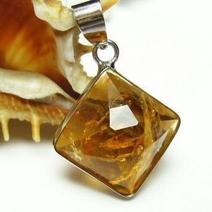 シトリン 黄水晶  ペンダント t167-1316|seian