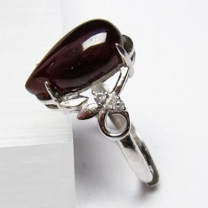 ガーネット 指輪 (12号) t275-18172 seian