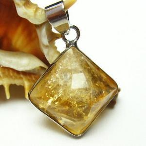 シトリン 黄水晶  ペンダント t167-1312|seian