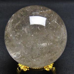 ルチル入り 水晶 丸玉 56mm m41-262|seian