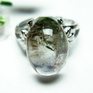 ガーデンクォーツ(庭園水晶) 指輪 (14号) t137-1669|seian