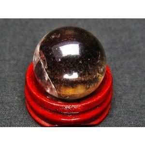 ライトニング水晶 丸玉 23mm  パワーストーン 天然石 t317-2405|seian|02