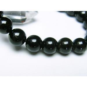 モリオン 純天然 黒水晶  ブレスレット 10mm  t112-2541|seian|03
