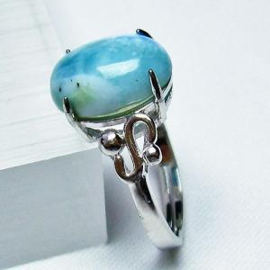 ラリマー 指輪 (11号) t113-8525|seian