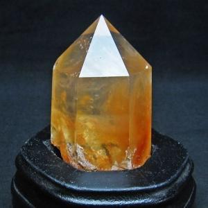 レッドラビットヘアールチル水晶 六角柱 t592-2327|seian