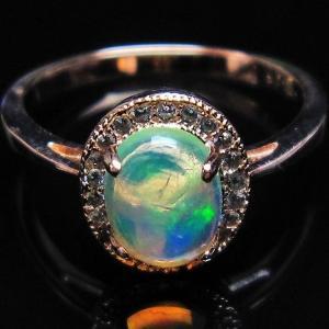 プレシャスオパール 指輪 (14号) l388-129 seian