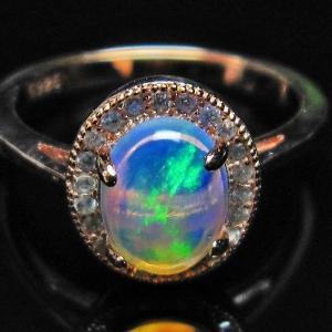 プレシャスオパール 指輪 (11号) l388-136 seian