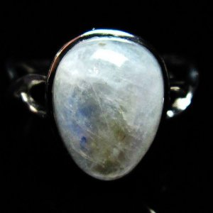 ムーンストーン 指輪 (14号) H170-66 seian