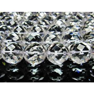 パワーストーン ビーズ ヒマラヤ水晶 一連 16mm 《rv》 パワーストーン 天然石 h21-6 seian 04