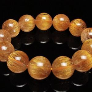 ファイナルグレード金針ルチル水晶 ブレスレット 17mm  K1-1394|seian