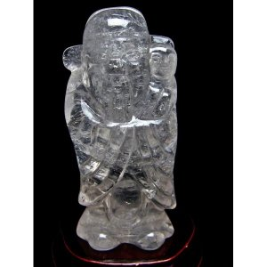 ヒマラヤ水晶福神 置物 k1-1994|seian