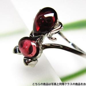ガーネット 指輪 l37-3847 seian
