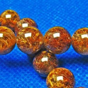 ルチルクォーツ(金針ルチル水晶) ブレスレット 12mm l9-1176|seian