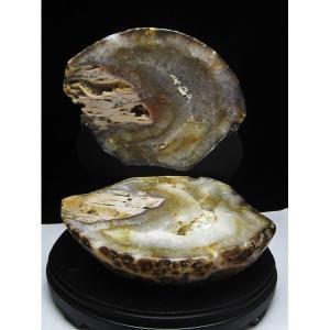 5.8Kg ウルグアイ産 ペア水晶トレジャーメノウ M172-543|seian