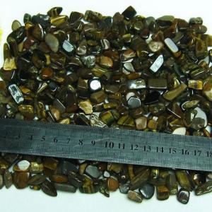 タイガーアイさざれサイズ:中 《rv》 パワーストーン 天然石 m191-2|seian