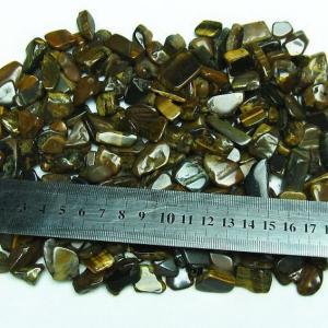 タイガーアイさざれサイズ:大 《rv》 パワーストーン 天然石 m191-3|seian