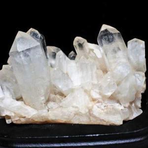 アーカンソー州産 水晶クラスター m48-1170|seian
