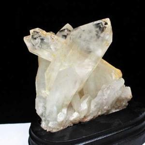 アーカンソー州産 水晶クラスター m48-1177|seian