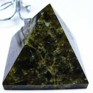 ラブラドライトピラミッド 置物 パワーストーン 天然石 m62-456|seian