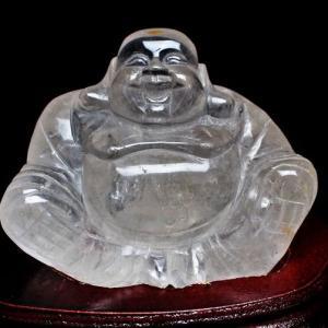 2Kg ヒマラヤ水晶布袋様 置物 s30-23|seian