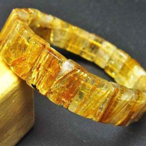 ゴールドタイチンルチル バングル t107-2838|seian