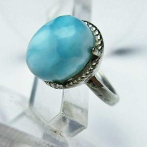 ラリマー 指輪 (11号) t113-8904|seian
