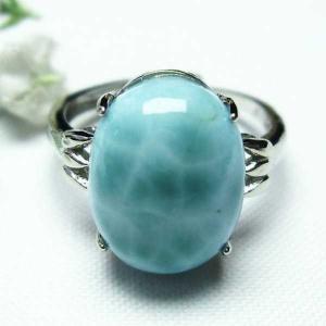 ラリマー 指輪 (15号) パワーストーン 天然石 t113-9275 seian