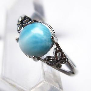 ラリマー 指輪 (14号) t113-9609|seian